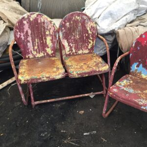 Metal Chairs - Before